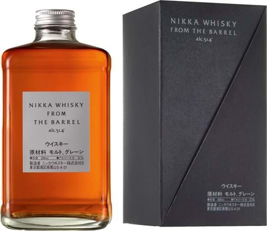 Nikka From The Barrel 51,4% 0,5L, gaveæske
