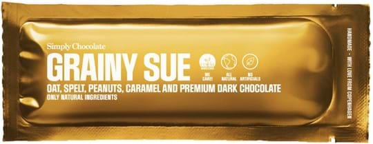 Simply Chocolate Chocolate bar with oats, spelt, peanuts, caramel and dark chocolate (60%) 40g