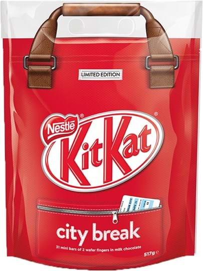 KitKat Wafer Fingers in Milk chocolate (67.8%)