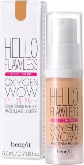 Benefit Hello Flawless Oxygen Foundation Honey 30 ml