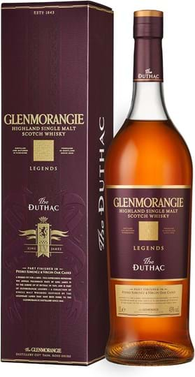 Glenmorangie Duthac 43% 1L, gaveæske