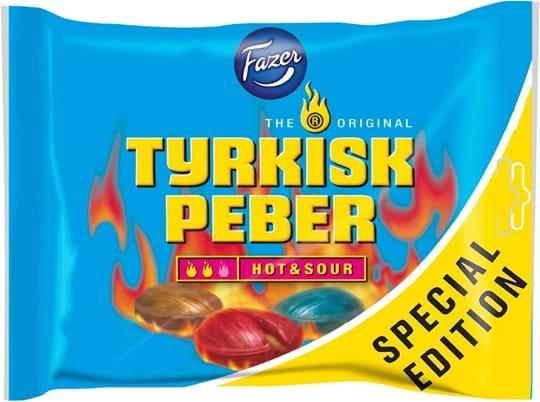 Tyrkisk Peber Pepper fruit candies