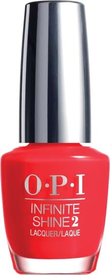 OPI Infinite Shine Nail Lacquer N° 008 Unrepentanly Red 15 ml