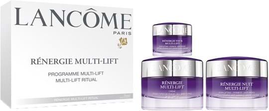 Lancôme Rénergie Multi-Lift Set cont.: Day Cream 50 ml (GH 1112999) + Night Cream 50 ml (GH 539045) + Eye Cream 15 ml (GH 539044)