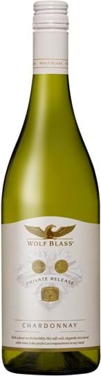 Wolf Blass, Private Release, Chardonnay, South Australia, dry, white