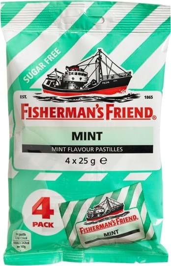 Fisherman's Friend Sugarfree Mint 4 x 25g
