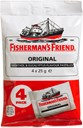 Fisherman's Friend Original Menthol & Eucalyptus 4 x 25g