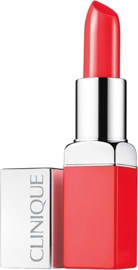 Clinique Pop Lip Colour + Primer Lipstick N°06 Poppy Pop