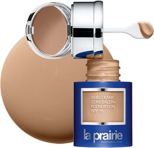 La Prairie Skin Caviar-concealerfoundation SPF15 N°02 Honey Beige 30ml
