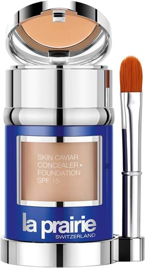 La Prairie Skin Caviar-concealerfoundation SPF15 N°04 Soleil Peche 30ml