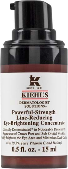 Kiehl's Dermatologist Solutions Powerful Strength-koncentrat til øjnene 15 ml