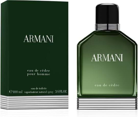 Giorgio Armani Eau de Cèdre Pour Homme Eau de Toilette 100ml