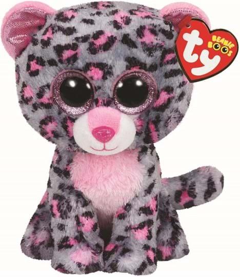 Ty Beanie Boos Tasha the Pink Leopard REGULAR