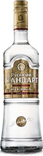 Russian Standard Vodka Gold 40 % 1L