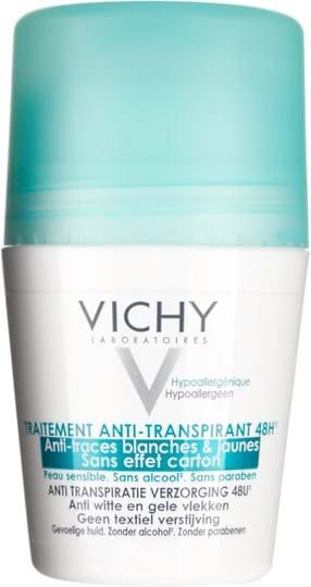Vichy Deodorant Dermo-Tole Deodorant Anti-Trace Roll-On