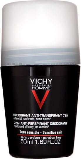 Vichy Homme Deodorant Antitranspirant Roll-On