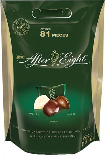 After Eight Variety Sharing Bag 550g