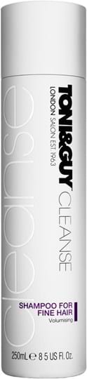 Toni&Guy Cleanse Shampoo for fine hair 250 ml