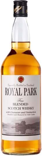 Royal Park, Fine Blended Scotch Whisky