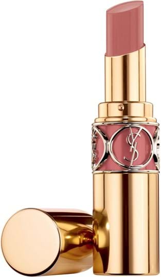 Yves Saint Laurent Rouge Volupte Shine Lipstick N° 47 Beige blouse