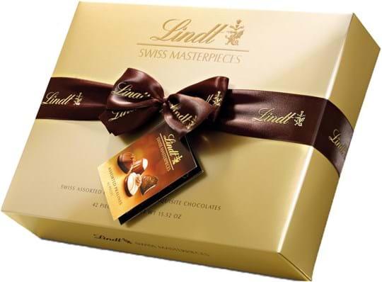 Lindt Pralines Lindt Assorted Swiss Masterpieces Box