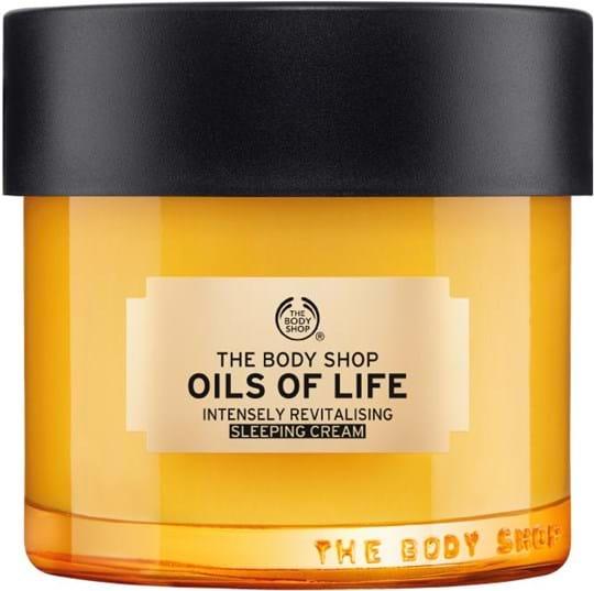 The Body Shop Oils of Life Sleepting-creme 80ml