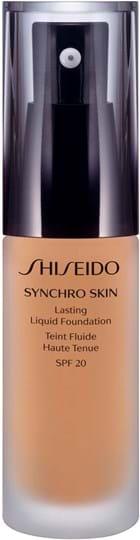 Shiseido Synchro Skin Lasting Liquid Foundation N° 3 Golden 30 ml