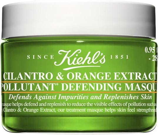 Kiehl's Anti Pollution Cilantro and Orange Extract Pollutant Purifying Masque
