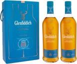 Glenfiddich Select Cask 40% 2 x 1L, dobbeltpakke