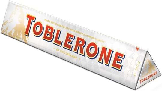 Toblerone Tablet Large Toblerone White