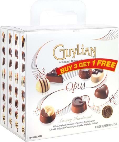 Guylian Opus, 3+1 gratis, 720g