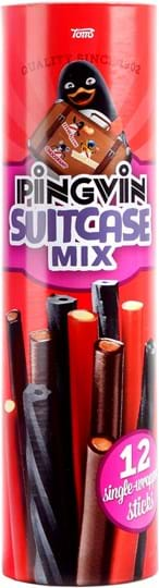 Pingvin Suitcase Mix 324g