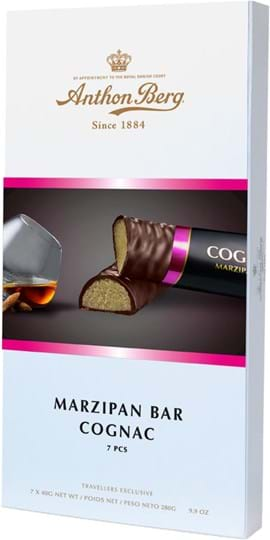 Anthon Berg-marcipanbar med cognac 280g