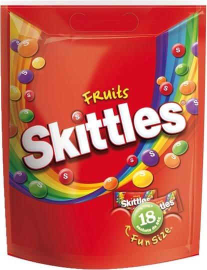 Skittles Minis i pose, 468g