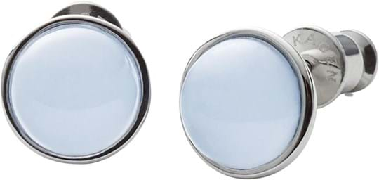 Skagen Sea Glass Women's earrings, stainless steel, silver