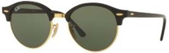 Ray Ban Icons Unisex Sunglasses with a frame made of acetate in black and crystal lenses in green