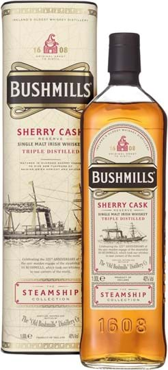 Bushmills Steamship Collection Sherry Cask Reserve 40% 1L