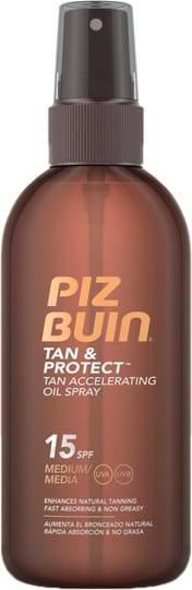 Piz Buin Tan & Protect Dry Oil Spray SPF15 150ml
