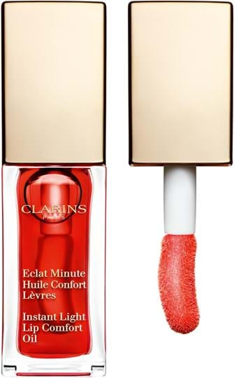Clarins Instant Light Comfort Lip Oil N° 03 Red Berry