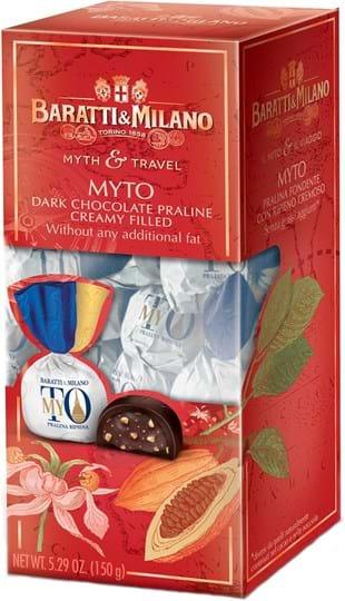 Baratti & Milano – Il Mito e Il Viaggio – æske med chokolade MYTO 150g