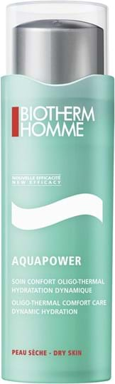 Biotherm Homme - Aquapower Soin Oligo Thermal Moisturizing Gel Dry Skin (replaces GH 721638)