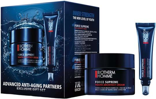 Biotherm Homme - Force Supreme Force Supreme Set cont.: Youth architect cream 50 ml (GH 1146144) + Eye serum 15 ml (GH 1094216)