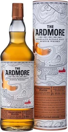 The Ardmore Traditional Peated 40 % 1L