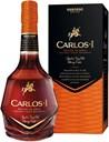 Carlos I, Brandy de Jerez, Solera Gran Reserva, 40%, 1L (gift box)