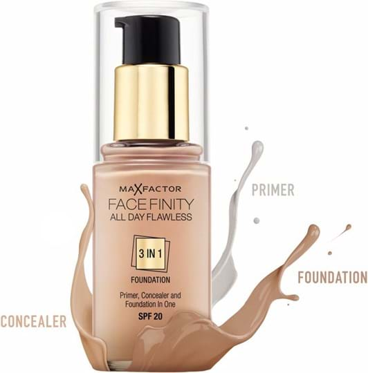 Max Factor Facefinity All Day Flawless 3 in 1-foundation N°40 Light Ivory 30ml