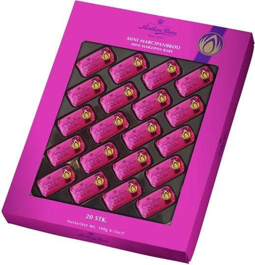Anthon Berg Marzipan Bar Mini Giftbox 190g