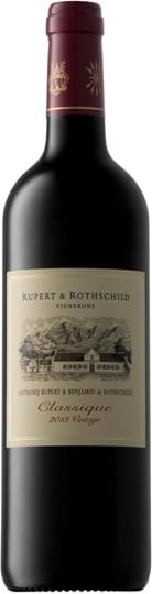 Rupert & Rothschild, Classique, Merlot, Cabernet Sauvignon, Western Cape, Wine of Origin, tør, rød, 0,75L