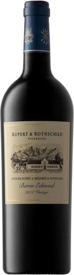 Rupert & Rothschild, Baron Edmond, Western Cape, Wine of Origin, dry, red, 0.75L