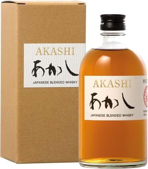 Akashi Blended Whisky 40% 0,5L gaveæske
