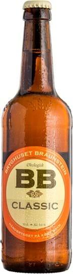 Braunstein Økologisk Classic 0,5L, flaske (økologisk)
